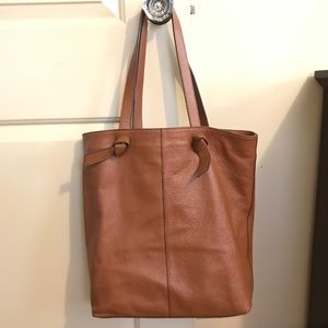 Italian Leather Tote (Real Leather)